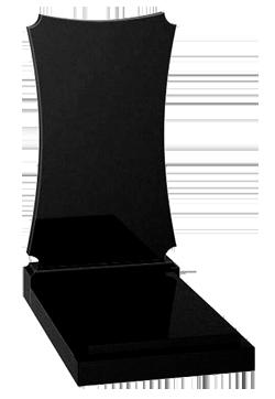 памятник из  чёрного гранита